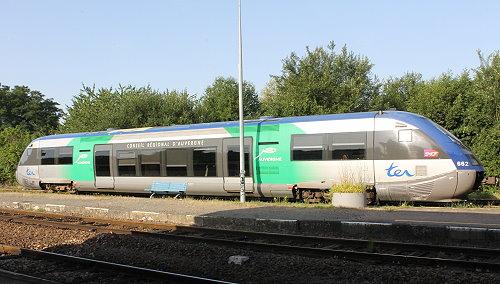 TER Auvergne en gare